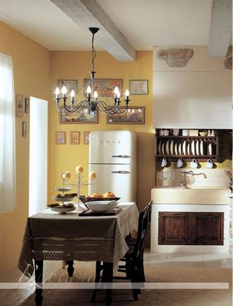 Stile antico progettazione e realizzazione di mobili su misura in legno massello - Cucine del borgo ...